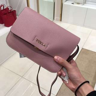 Furla pink mini bag crossbody bag