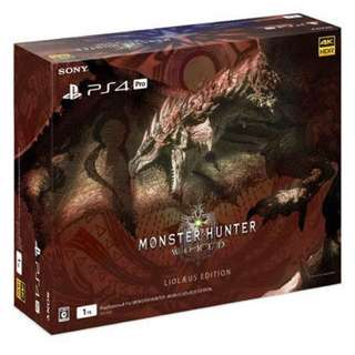 Wanted to Buy Brand New Monster Hunter World PS4 Pro.