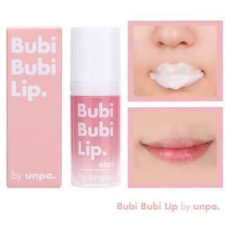 Unpa Bubi Lip Bubble Scrub (Authentic)