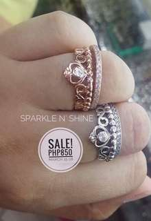 SALE Pandora Tiara & Eternity Ring