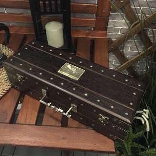 🚚 潛水艇 實木收藏盒子 錶盒