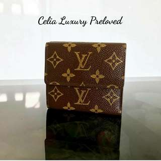 Preloved Louis Vuitton Elise Wallet Authentic