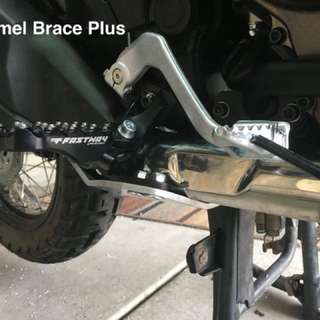 Africa twin crf1000l Camel brace peg support