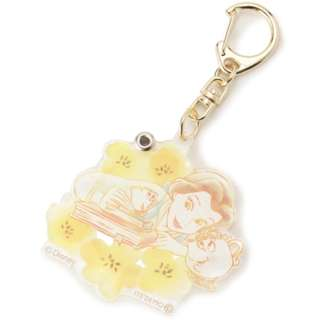 [PO] ITS' DEMO Disney Princess Acrylic Key holder with mirror Belle