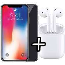 iPhone X 64GB with Apple airpod