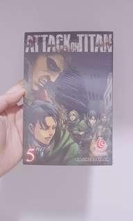 Attack on titan / shingeki no kyojin vol 5