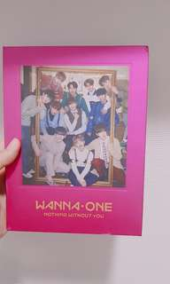 Album wanna one nothing without you (one ver)