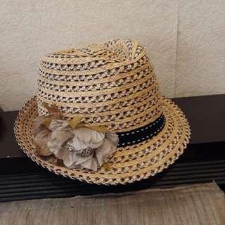 🚚 全新正品✨專櫃IENA造型花竹編帽