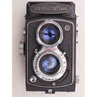 yashica flex 雙眼相機