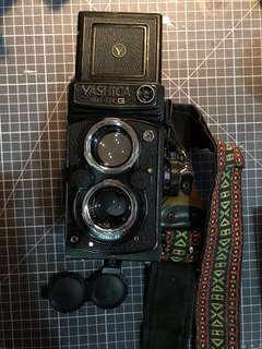 Film Camera - Yashica Mat-124 G