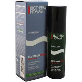 biotherm homme age fitness night advanced night recovery anti-aging care