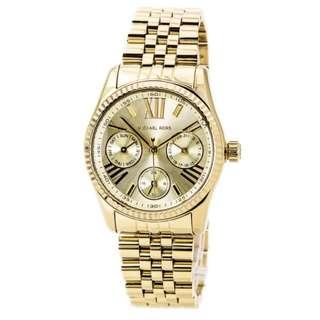 Michael Kors Lexington Gold-Tone Ladies Watch MK5808