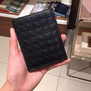 Ferragamo 男裝相格銀包 man wallet