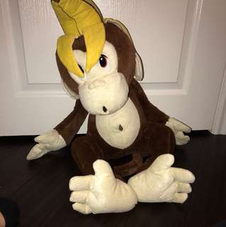 MONKEY-BANANA HEAD STUFFED ANIMAL