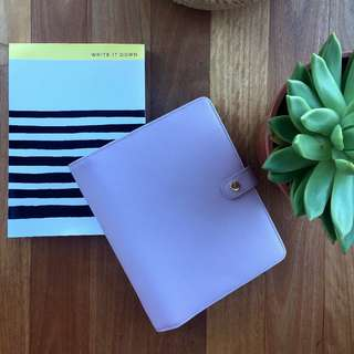 Leather Kikki-K Planner set