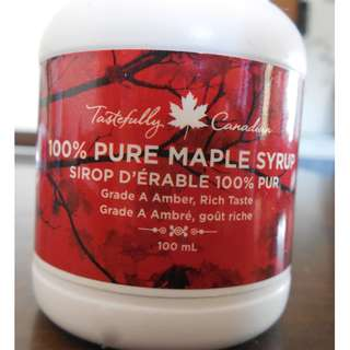 100% Pure Maple Syrup 100 ml (fr. Canada)