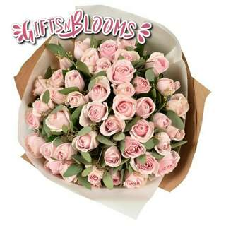 Fresh Flower Bouquet Surprise for Special Anniversary Birthday Gift V28 - LZSHO