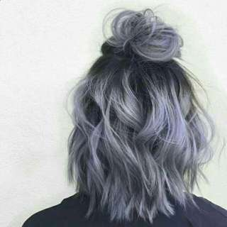 Ash purple (grey + purple) 💜