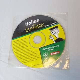 Italian for Dummies CD