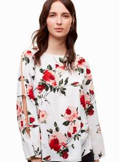 Wilfred Floral Pozzi Blouse XS