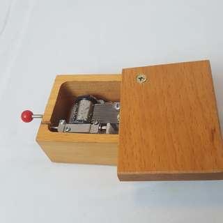 Wooden Music Box