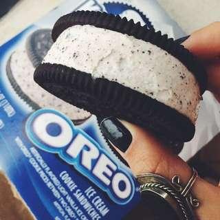 Oreo Ice Cream Sandwich