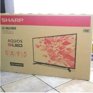 "Sharp 40"" Full HD LED TV LC40LE280X"