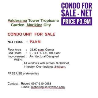 2-BR Condo Unit FOR SALE - FURNISHED - Marikina