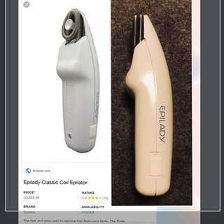 Epilady Classic Hair remover / Epilady Classic 拔毛脫毛器(great for travel / 旅行良伴)