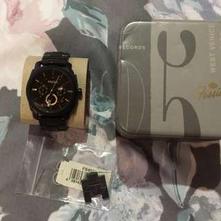 Euc authentic fossil watch