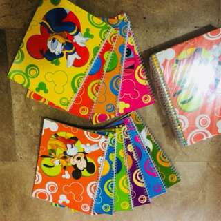 Mickey Mouse character Notebook
