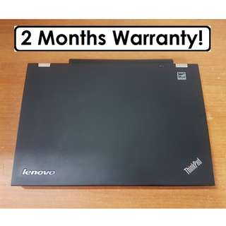 [ Core I5 Gen3 Laptop] Lenovo T430: USB 3.0! Famous for its build quality.