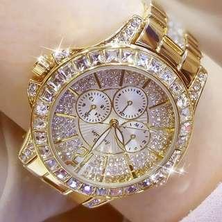 Postage Free Promotion-Luxury Fashion Women Quartz Wrist Watch