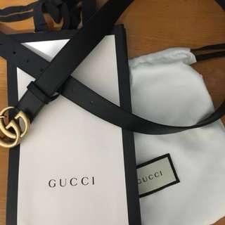 Gucci 皮帶 3cm/90