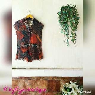 ❤OFFICE HOUR❤ Batik Top