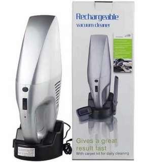 Rechargable vacuum cleaner