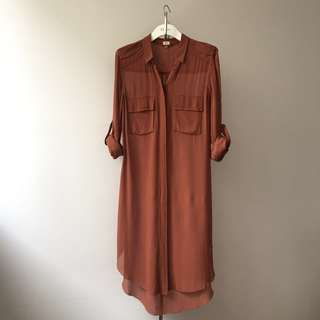 *OLD WILFRED* silk tunic dress