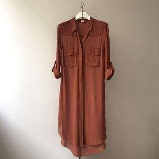 *OLD WILFRED* silk tunic dress