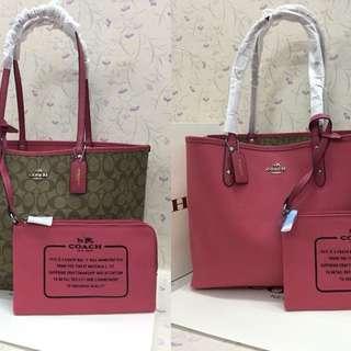 Sale!! Authentic Reversible Coach Tote Bag