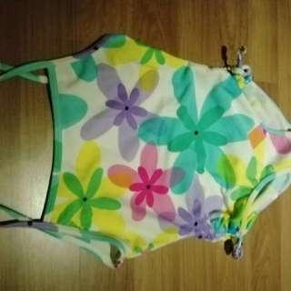 Flowery swimsuit