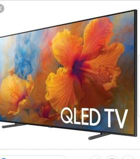 Samsung Latest 65 inches QLED. Highest end QLED. Best Deal n One Set Only!!!