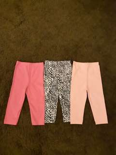 [3 For Rm15] Girls Leggings 9-12m