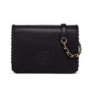 Authentic Tory Burch Marion Combo Crossbody Bag
