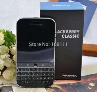 Original BlackBerry Classic Q20 cell Phone unlocked Dual core 2GB RAM 16GB ROM 8MP Camera Smartphone,