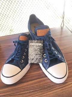 Buy one get one authentic Converse (brown and blue)