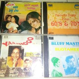 Original BOLLYWOOD Hindustan CD EMI @$9 each