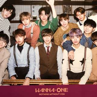 WANNA ONE : Nothing without You ~ Official Poster / Buy 2 ver. at rm25!
