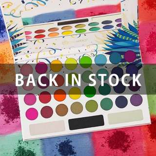 Take Me Back To Brazil - 35 Color Pressed Pigment Palette
