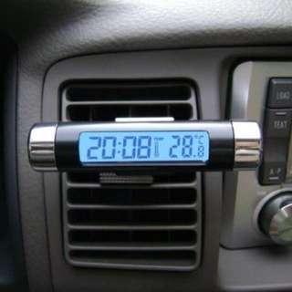 Jam Digital & Temperatur