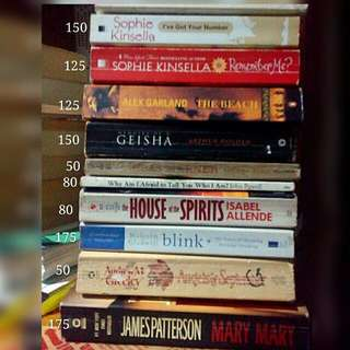 Some books are repriced! 50 php - 175 php